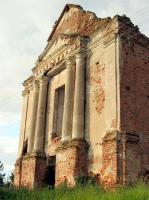 Ошмяны, костел францисканцев (руины).